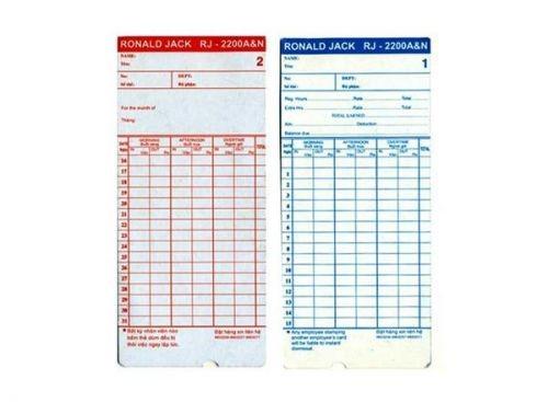 Thẻ giấy chấm công  ( Hàng Việt Nam )